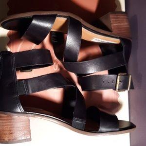 Steve madden black block heel sandals